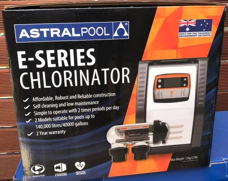 Astral salt chlorinator